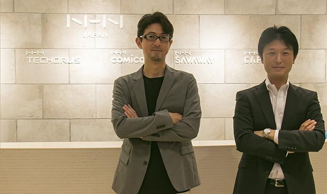 NHNテコラスが考えるWAF搭載やDDoS対策を施したセキュアなサーバーが選ばれる理由とは? NHNテコラス株式会社小柳津 純(左)平賀 真琴(右)