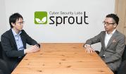 人々の知らないダークウェブの世界について 株式会社スプラウト 代表取締役社長 高野聖玄(右)、株式会社サイバーセキュリティクラウド Webセキュリティ事業部 取締役 CTO 渡辺洋司(左)sprout
